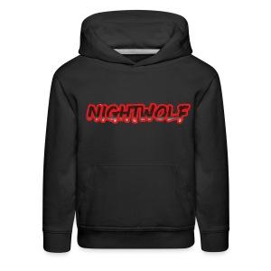 T-Shirt with Nightwolf Logo - Kids' Premium Hoodie
