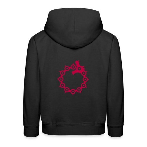 Wrath of the Dragon - Kids' Premium Hoodie