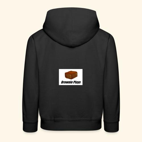 Brownie Plays Merchandise - Kids' Premium Hoodie