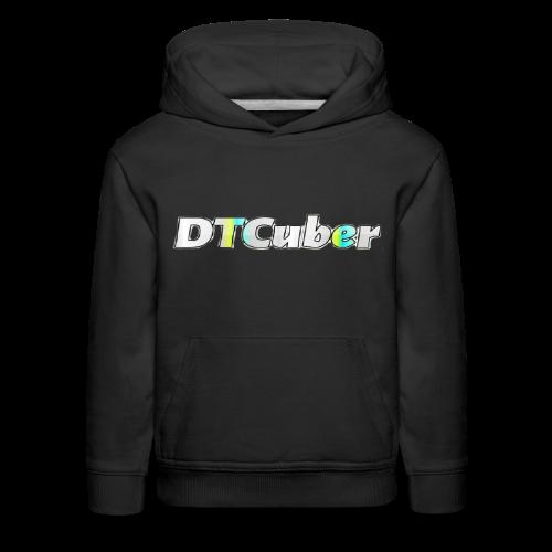 DTCuber Logo - Kids' Premium Hoodie