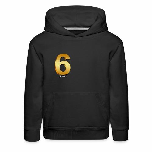 {{GOLD}} (MERCH) 6 squad - Kids' Premium Hoodie