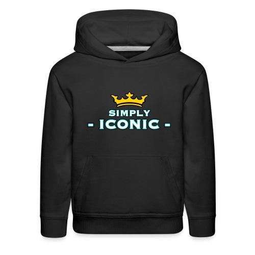 Brian Justine Pre Simply Iconic Logo - Kids' Premium Hoodie