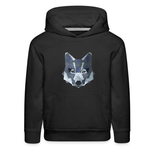 be a wolf - Kids' Premium Hoodie