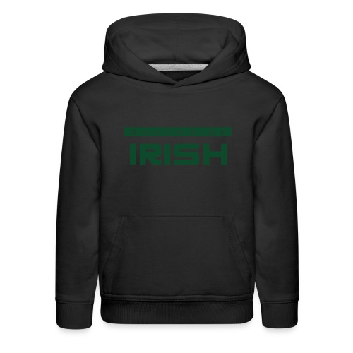 Southside Irish green - One Bar - Kids' Premium Hoodie