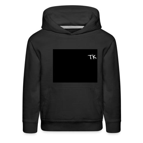 Thom Kenobi hoodies TK initials gloria hallelujah - Kids' Premium Hoodie