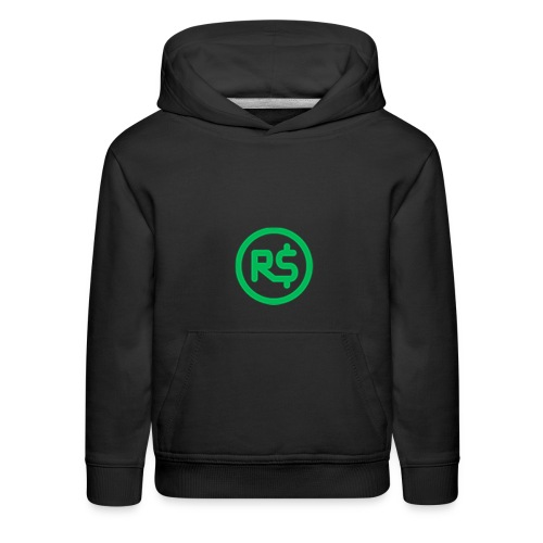 Robux Logo shirts - Kids' Premium Hoodie