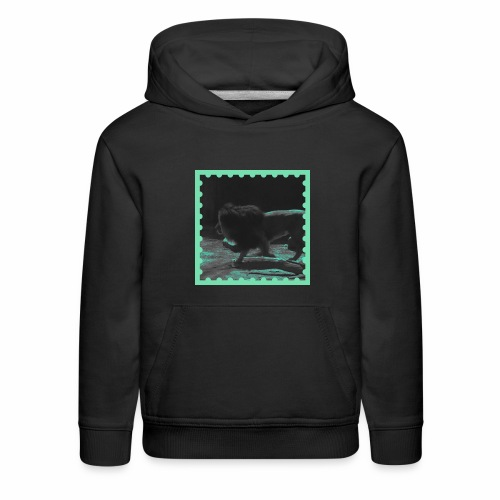 Lion on the prowl - Kids' Premium Hoodie