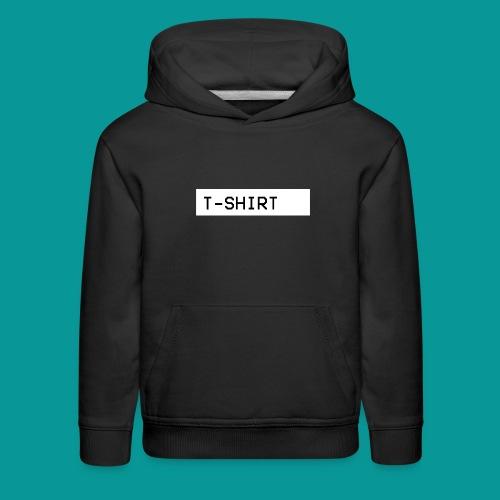 (Sweatshirts/Hoodies) T-Shirt Design - Kids' Premium Hoodie