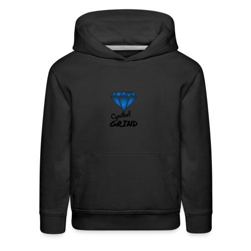 Cynikal Grind logo - Kids' Premium Hoodie