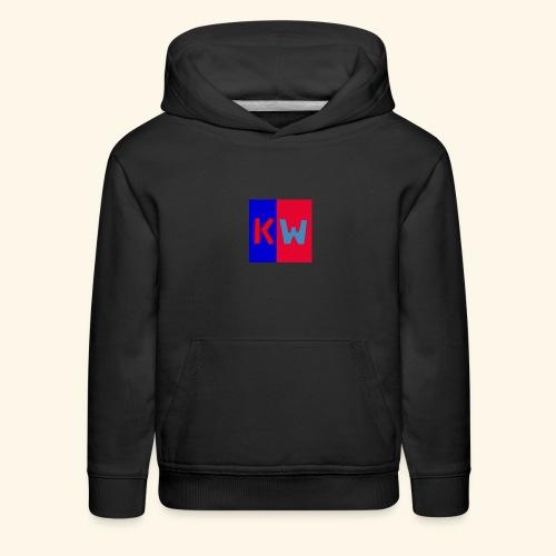 Kalani wipou logo shirt - Kids' Premium Hoodie