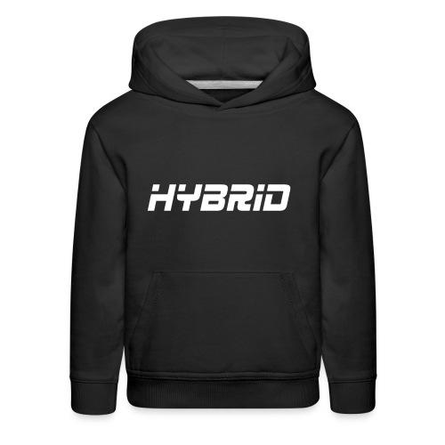 Hybrid Black Hoodie - Kids' Premium Hoodie