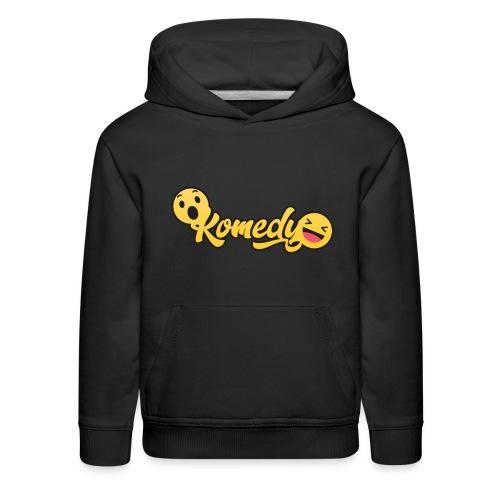 Komedy Basic Logo - Kids' Premium Hoodie