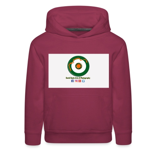 David Doyle Arts & Photography Logo - Kids' Premium Hoodie