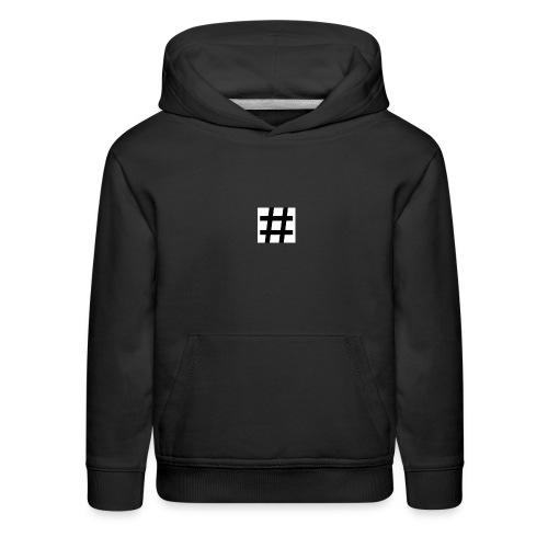 Hashtag Merch - Kids' Premium Hoodie
