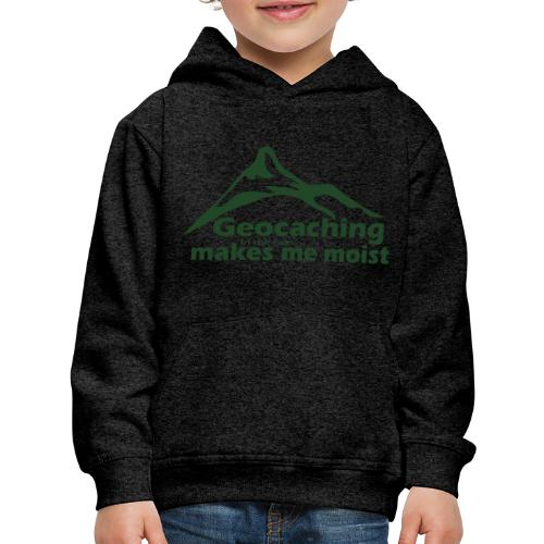 Geocaching in the Rain - Kids' Premium Hoodie