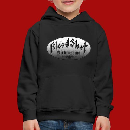 BloodShot Logo Black/White - Kids' Premium Hoodie