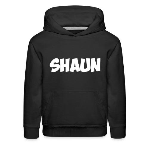 Shaun Logo Shirt - Kids' Premium Hoodie