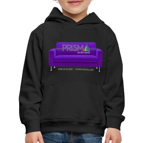 Purple Couch - Kids' Premium Hoodie
