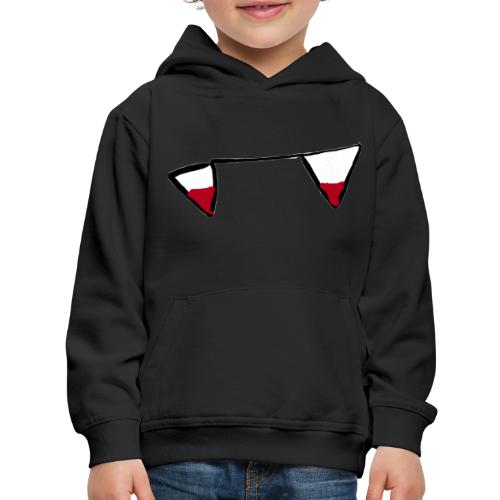 Halloween limited edition shrit and mask - Kids' Premium Hoodie