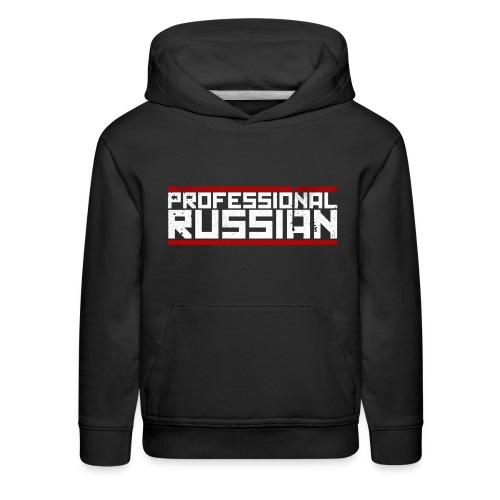 FPS Russia Logo MP Long Sleeve Shirts - Kids' Premium Hoodie