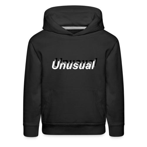 normal shadow unusual - Kids' Premium Hoodie