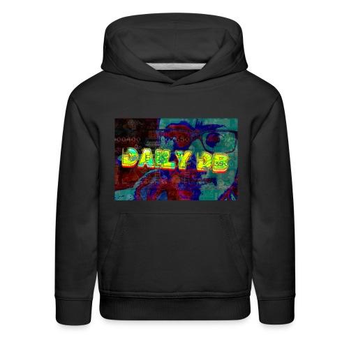 daily db poster - Kids' Premium Hoodie