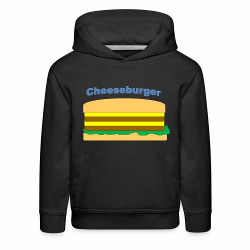 cheeseburger - Kids' Premium Hoodie