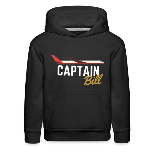 Captain Bill Avaition products - Kids' Premium Hoodie