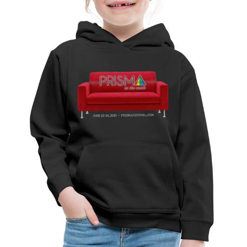 PRISMA on the Couch: Red - Kids' Premium Hoodie