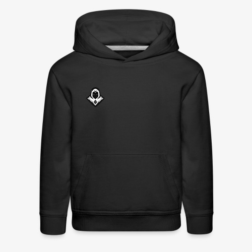 Ghost (Crao's Old Logo) - Kids' Premium Hoodie