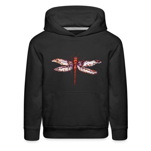 Dragonfly red - Kids' Premium Hoodie