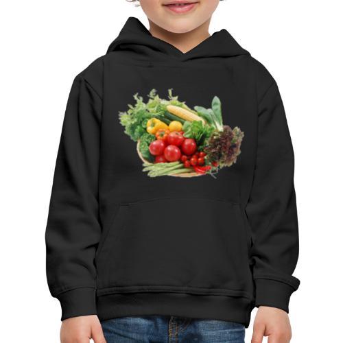 vegetable fruits - Kids' Premium Hoodie