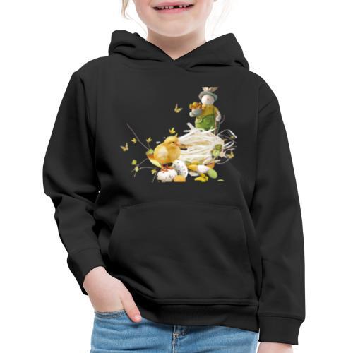easter bunny easter egg holiday - Kids' Premium Hoodie