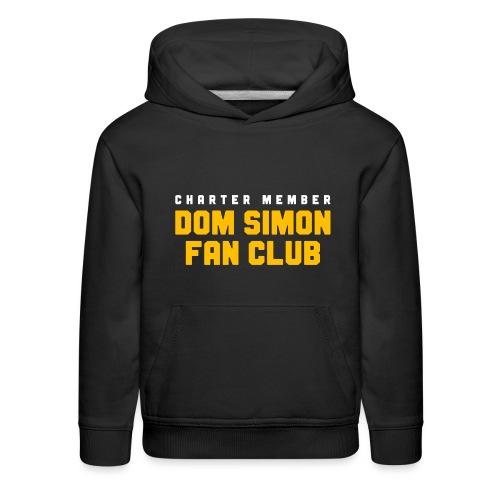 Dom Simon Fan Club - Kids' Premium Hoodie