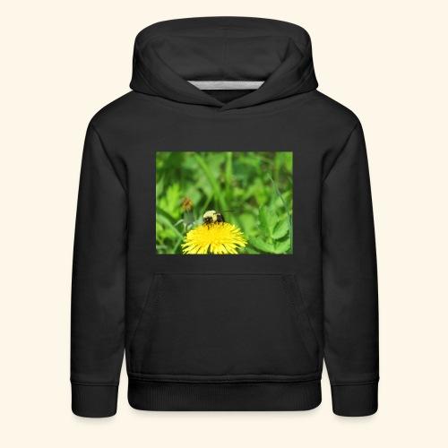 Dandelion Bee - Kids' Premium Hoodie
