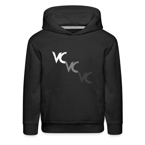 V3L0C1TY Logo Mugs & Drinkware - Kids' Premium Hoodie