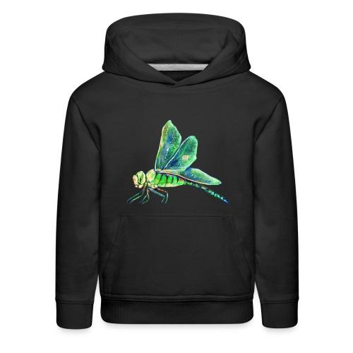 green dragonfly - Kids' Premium Hoodie