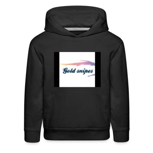 Kids Gold snipes Tshirt - Kids' Premium Hoodie