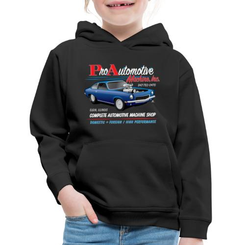 ProAutoTeeDesign062317fin - Kids' Premium Hoodie