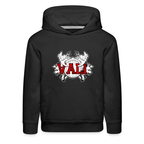 Vali Logo 2 - Kids' Premium Hoodie