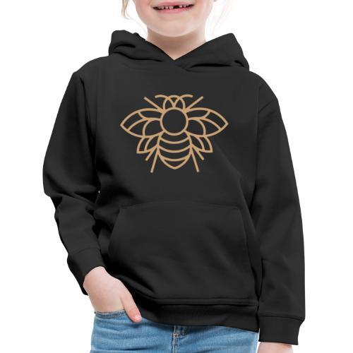(bee_gold) - Kids' Premium Hoodie