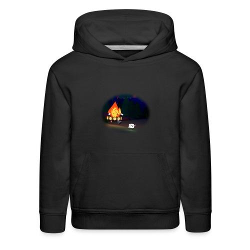 'Round the Campfire - Kids' Premium Hoodie