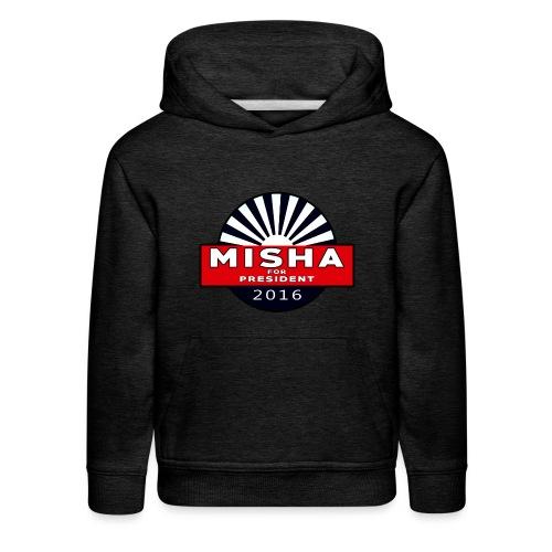 Misha For President - Kids' Premium Hoodie