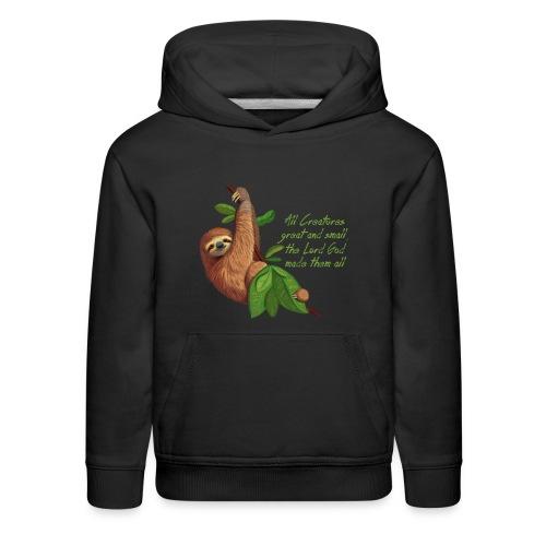 Sloth - Kids' Premium Hoodie