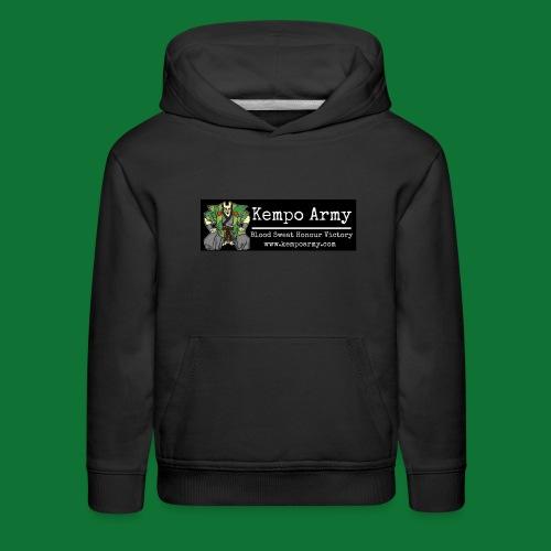 rsz kempo army sticker - Kids' Premium Hoodie