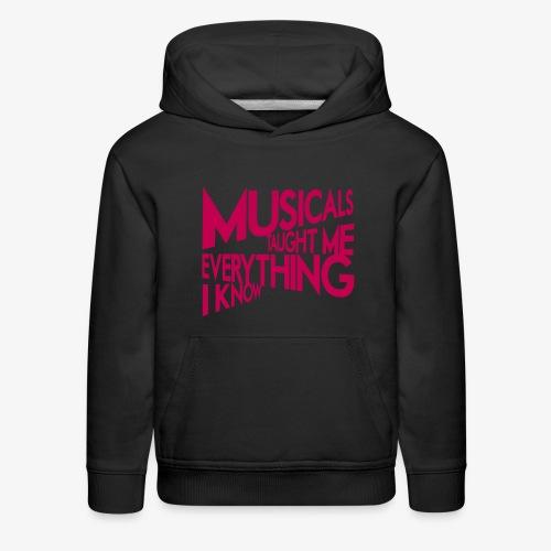 MTMEIK Pink Logo - Kids' Premium Hoodie
