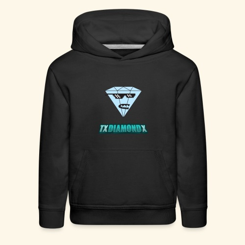 Txdiamondx Diamond Guy Logo - Kids' Premium Hoodie
