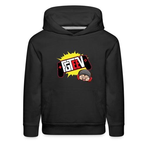 FGTEEV 2019 Logo (ADULT) - Kids' Premium Hoodie
