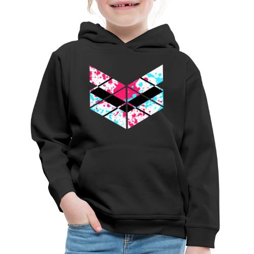 SaMPL and HoLD Paint Splatter Logo - Kids' Premium Hoodie
