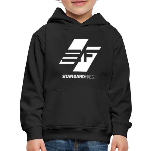 SF Logo (WHT) - Kids' Premium Hoodie